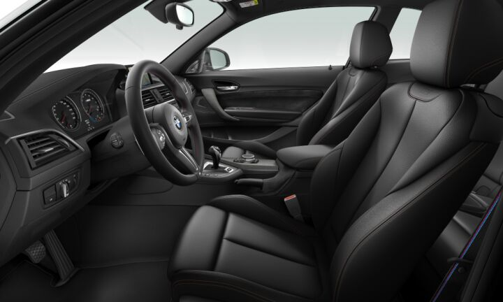 Vista Interior derecha del BMW M M2 Competition