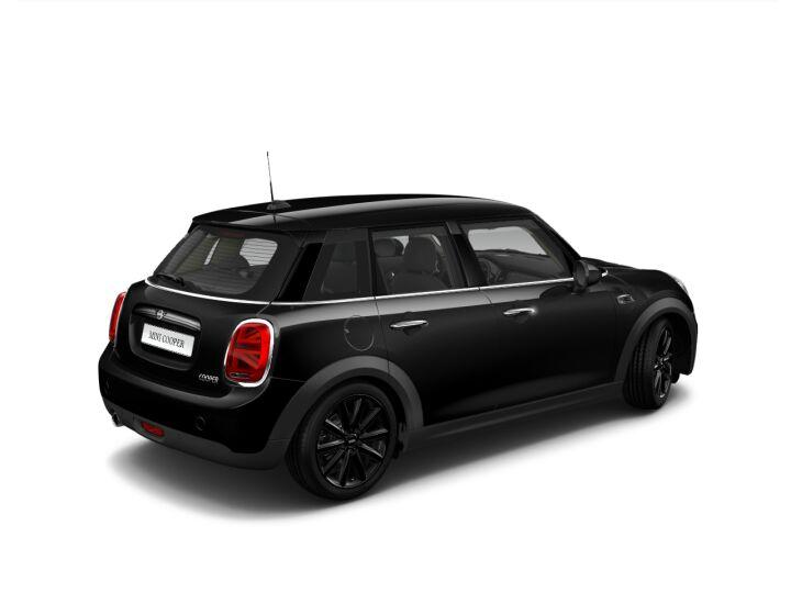 Vista Tres cuartos trasera izquierda del MINI 5 Puertas Cooper 100 kW (136 CV)