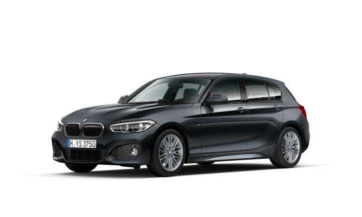 Vista Tres cuartos delantera izquierda del BMW Serie 1 118i 100kW (136CV)