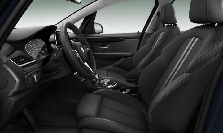 Vista Interior derecha del BMW Serie 2 216d Gran Tourer