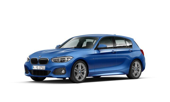 Vista Tres cuartos delantera izquierda del BMW Serie 1 118d 110 kW (150 CV)