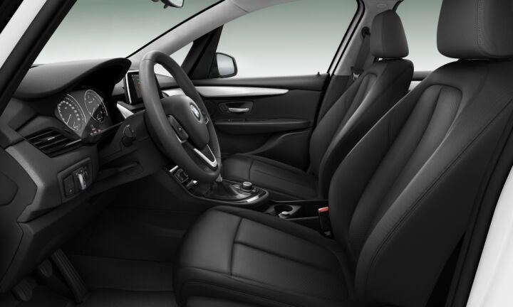 Vista Interior derecha del BMW Serie 2 216d Active Tourer