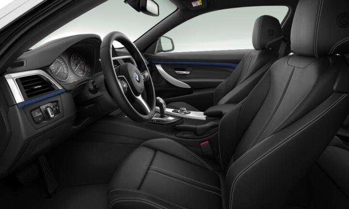 Vista Interior derecha del BMW Serie 4 420i Coupe 135 kW (184 CV)