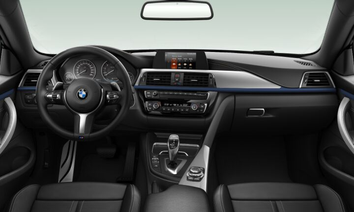 Vista Interior delantera del BMW Serie 4 420i Coupe 135 kW (184 CV)
