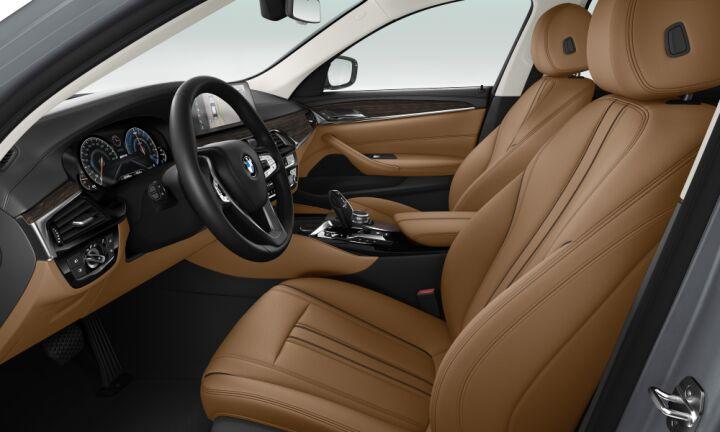 Vista Interior derecha del BMW Serie 5 530e iPerformance