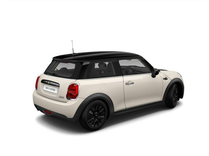 Vista Tres cuartos trasera izquierda del MINI 3 Puertas Cooper 100 kW (136 CV)
