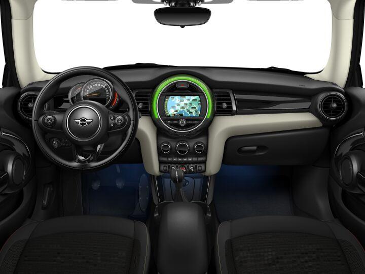 Vista Interior delantera del MINI 3 Puertas Cooper 100 kW (136 CV)