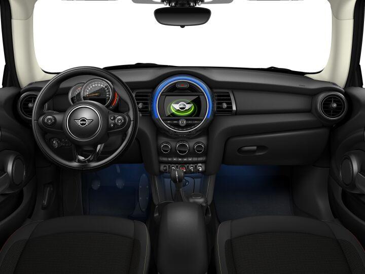Vista Interior delantera del MINI 3 Puertas ONE 75 kW (102 CV)