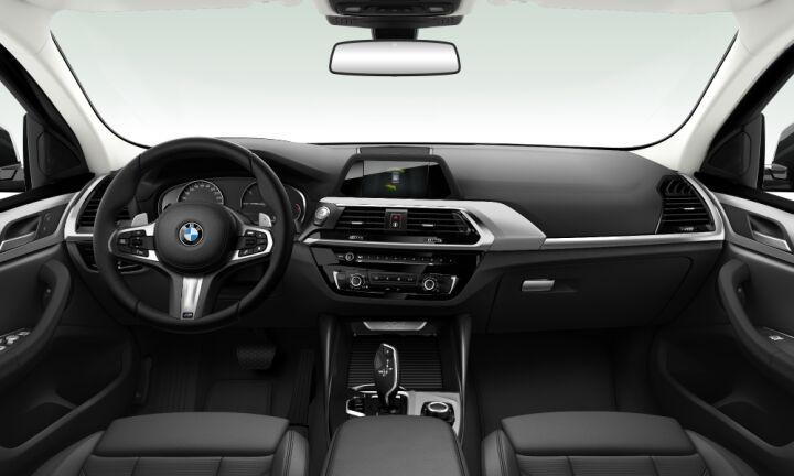 Vista Interior delantera del BMW X4 xDrive25d 170 kW (231 CV)