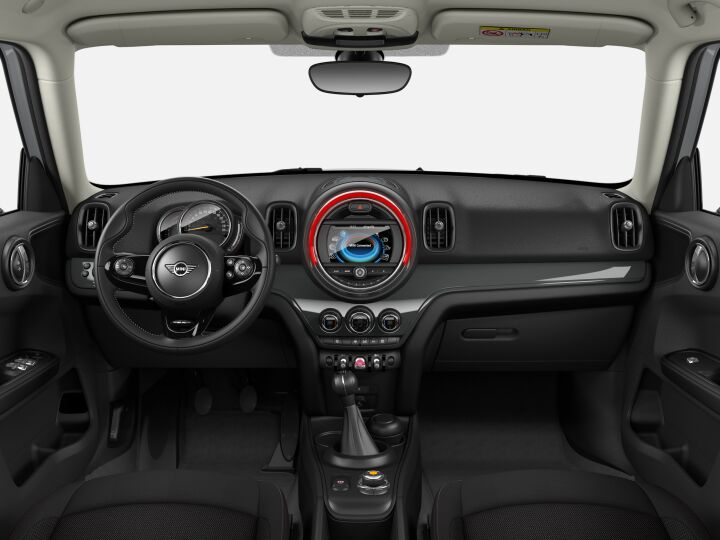 Vista Interior delantera del MINI Countryman One 75 kW (102 CV)