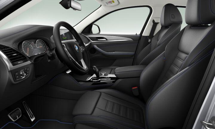 Vista Interior derecha del BMW X4 xDrive30i