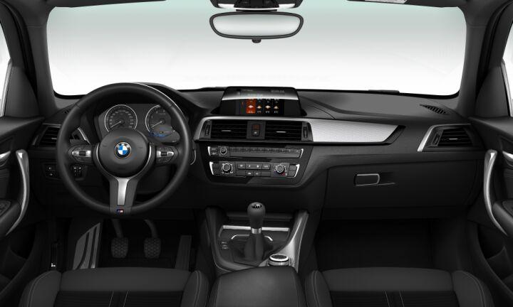 Vista Interior delantera del BMW Serie 1 116d 85 kW (116 CV)