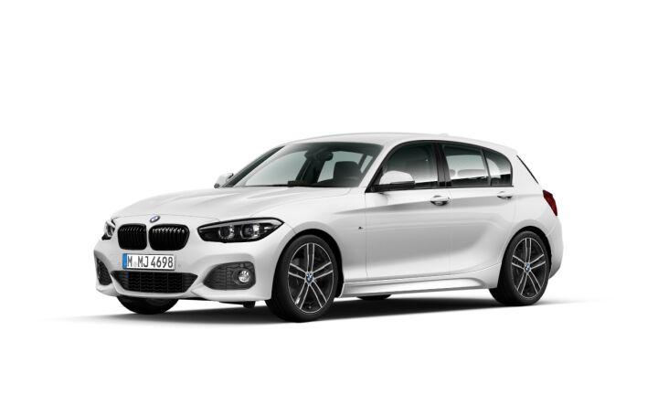Vista Tres cuartos delantera izquierda del BMW Serie 1 118i
