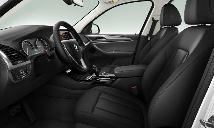 Vista Interior derecha del BMW X3 sDrive18d