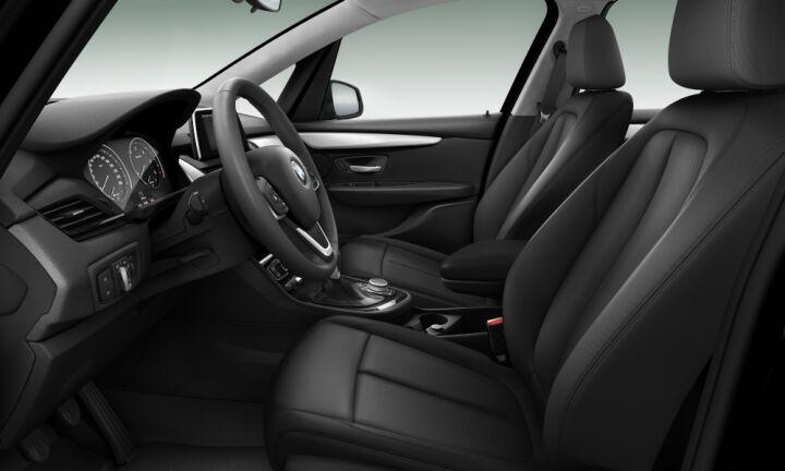 Vista Interior derecha del BMW Serie 2 218d Gran Tourer 110 kW (150 CV)
