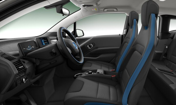 Vista Interior derecha del BMW i3 i3 120ah