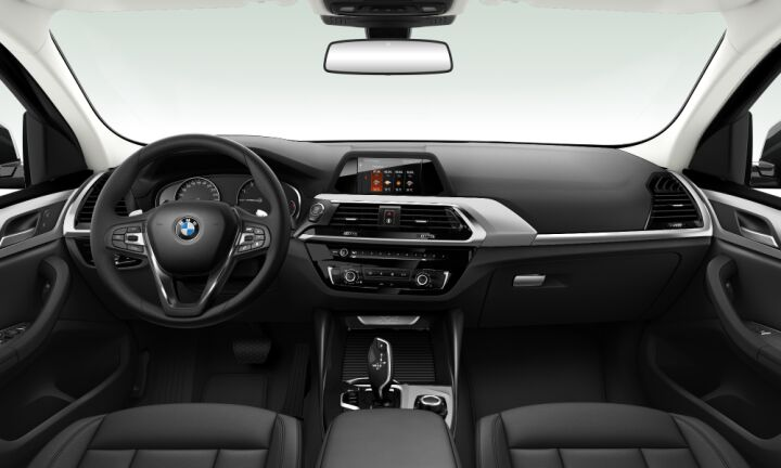 Vista Interior delantera del BMW X4 xDrive20i 135 kW (184 CV)