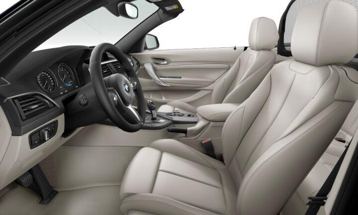 Vista Interior derecha del BMW Serie 2 218i Cabrio