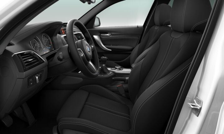 Vista Interior derecha del BMW Serie 1 118i