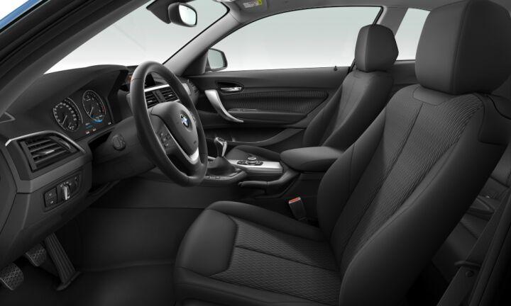 Vista Interior derecha del BMW Serie 2 218d Coupe 110 kW (150 CV)
