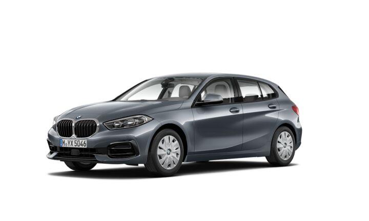 Vista Tres cuartos delantera izquierda del BMW Serie 1 120d