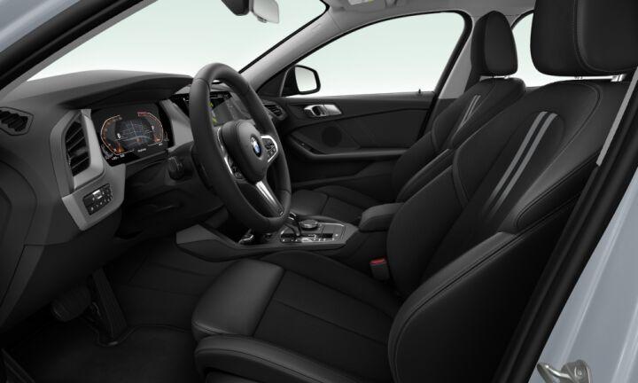 Vista Interior derecha del BMW Serie 1 120d