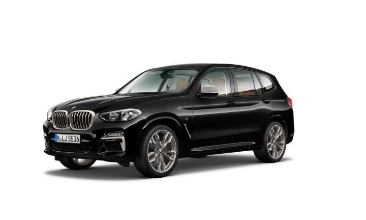 Vista Tres cuartos delantera izquierda del BMW X3 M40i 265 kW (360 CV)