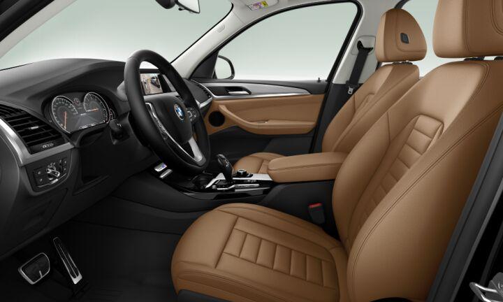 Vista Interior derecha del BMW X3 M40i 265 kW (360 CV)