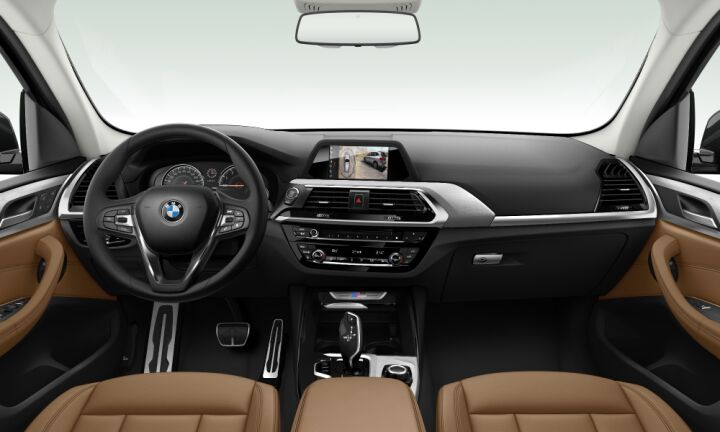 Vista Interior delantera del BMW X3 M40i 265 kW (360 CV)