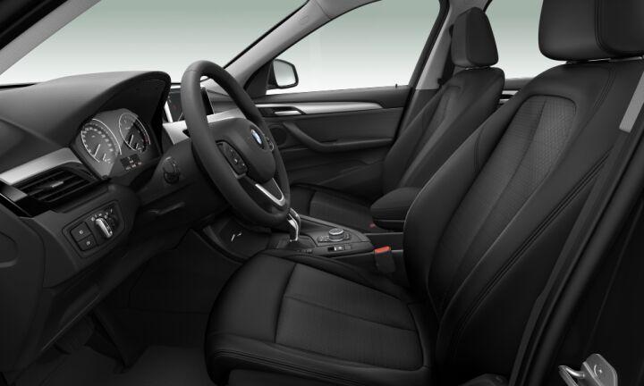 Vista Interior derecha del BMW X1 sDrive18d