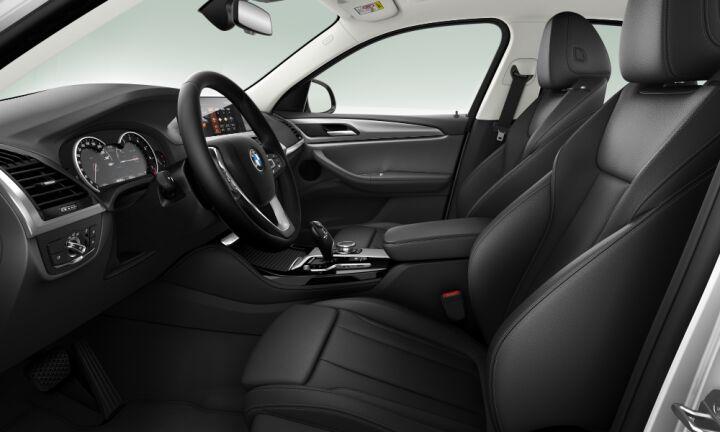 Vista Interior derecha del BMW X4 xDrive20i