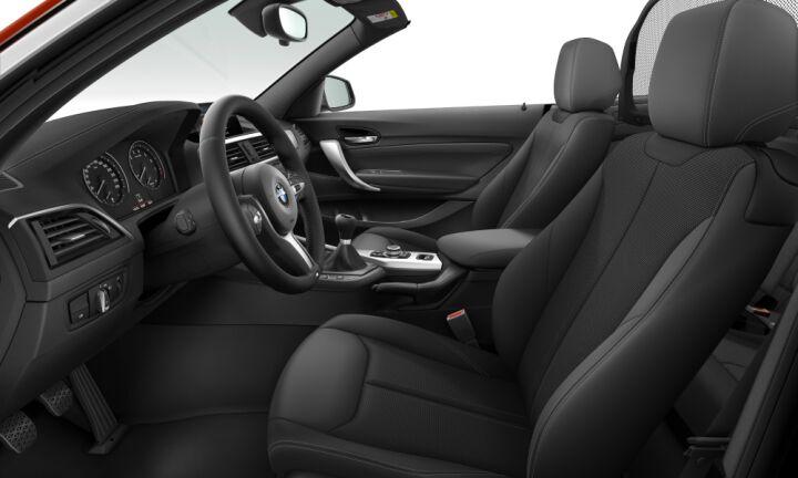 Vista Interior derecha del BMW Serie 2 220i Cabrio