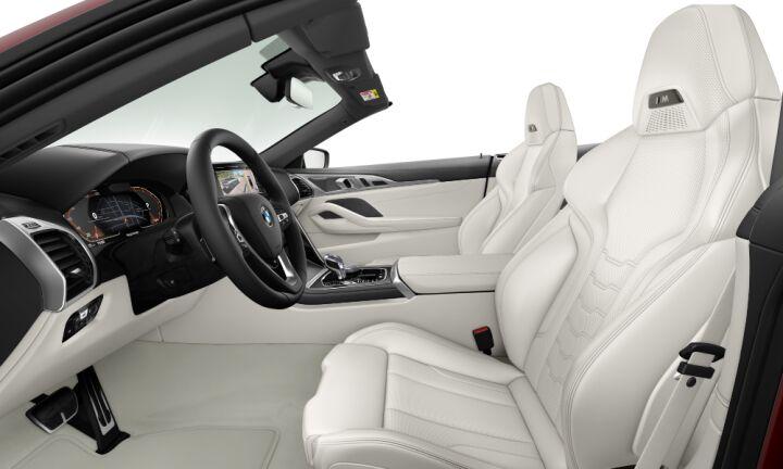 Vista Interior derecha del BMW Serie 8 840d Cabrio