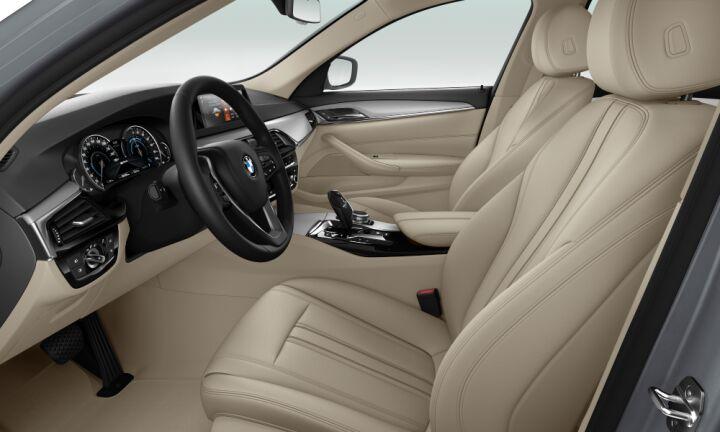 Vista Interior derecha del BMW Serie 5 530e