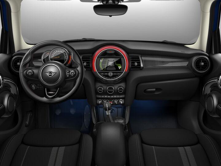 Vista Interior delantera del MINI 5 Puertas Cooper S 141 kW (192 CV)