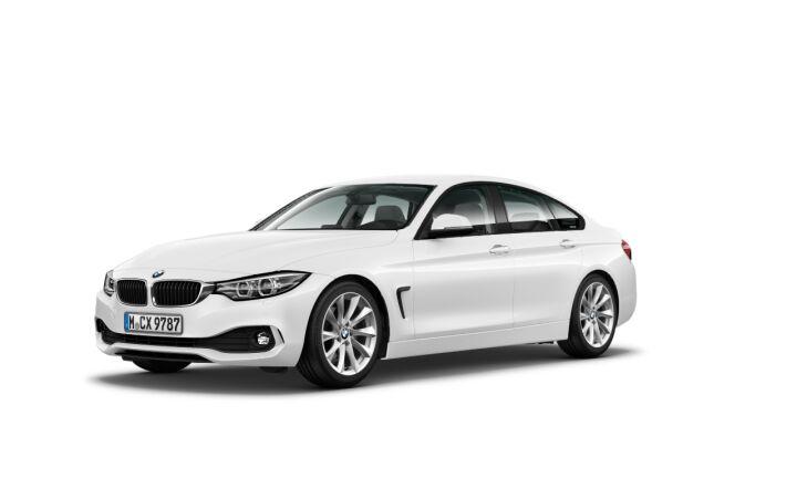 Vista Tres cuartos delantera izquierda del BMW Serie 4 420i Gran Coupe 135 kW (184 CV)