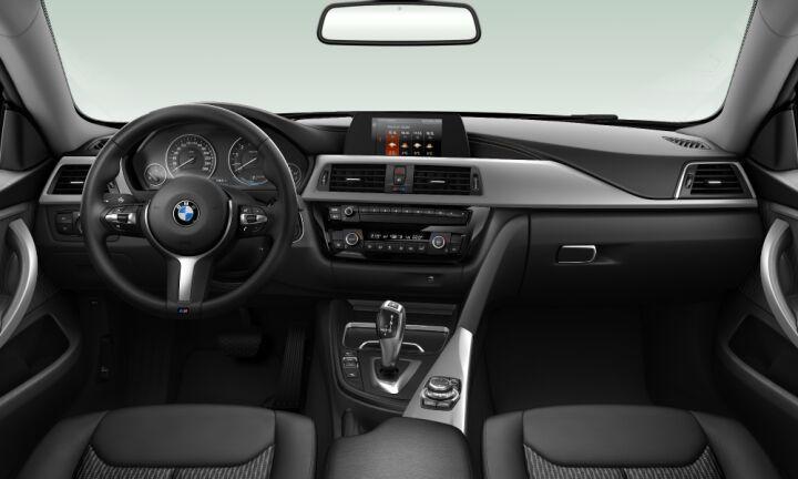 Vista Interior delantera del BMW Serie 4 420i Gran Coupe 135 kW (184 CV)