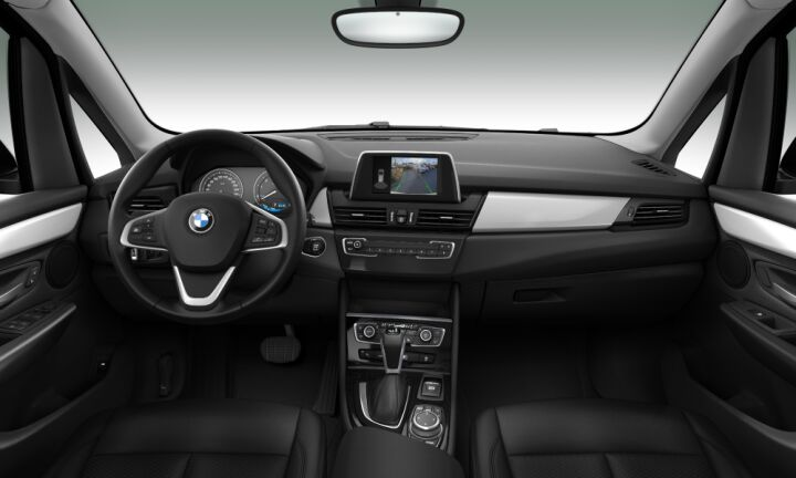 Vista Interior delantera del BMW Serie 2 225xe iPerformance Active Tourer