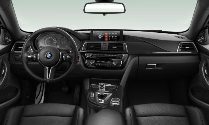 Vista Interior delantera del BMW M M4 Coupe