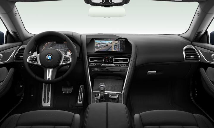 Vista Interior delantera del BMW Serie 8 840d xDrive Gran Coupe 235 kW (320 CV)