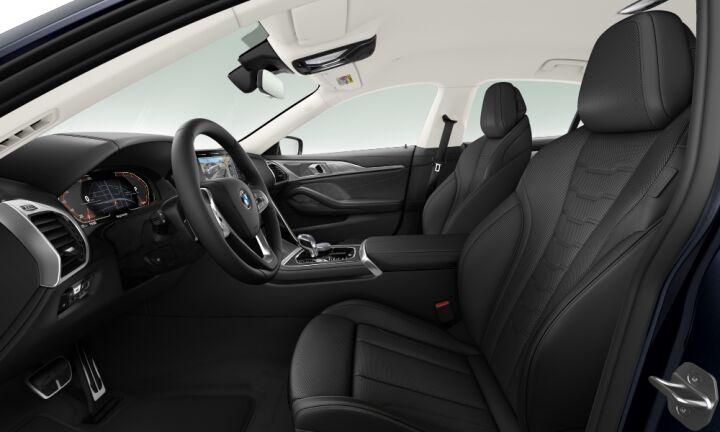 Vista Interior derecha del BMW Serie 8 840d Gran Coupe