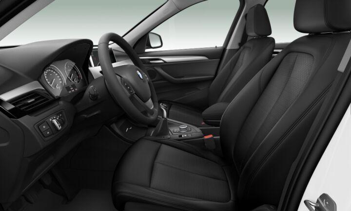 Vista Interior derecha del BMW X1 sDrive16d