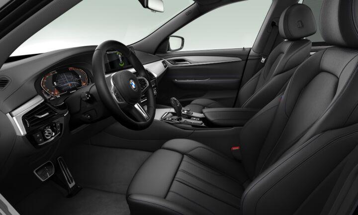 Vista Interior derecha del BMW Serie 6 630d Gran Turismo