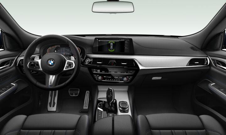 Vista Interior delantera del BMW Serie 6 630d Gran Turismo