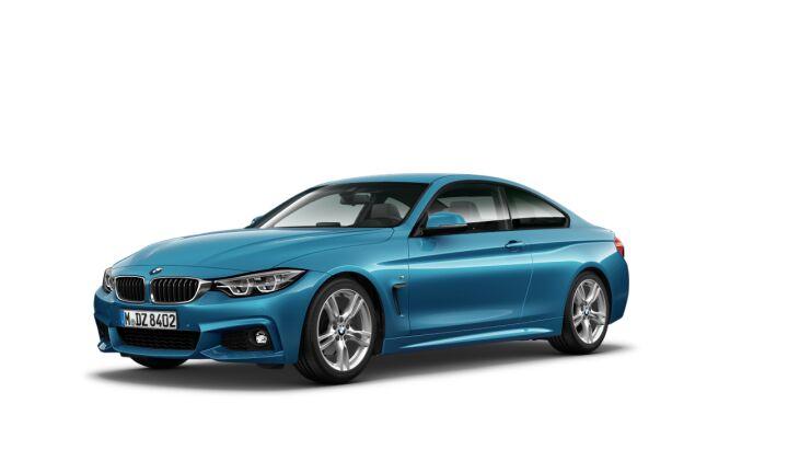 Vista Tres cuartos delantera izquierda del BMW Serie 4 420d Coupe
