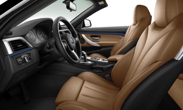 Vista Interior derecha del BMW Serie 4 430i Cabrio
