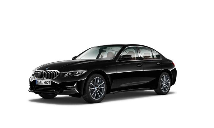 Vista Tres cuartos delantera izquierda del BMW Serie 3 320i