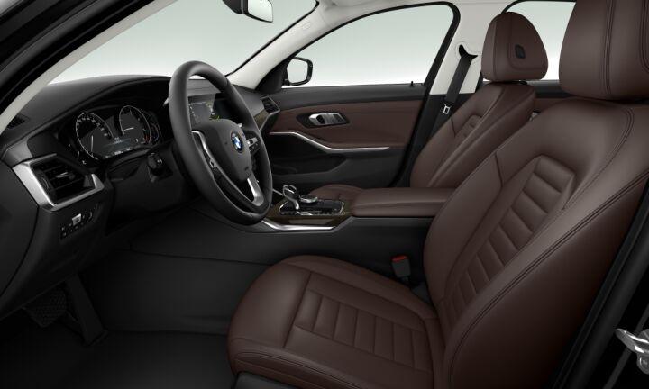Vista Interior derecha del BMW Serie 3 320i