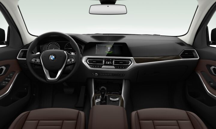 Vista Interior delantera del BMW Serie 3 320i 135 kW (184 CV)