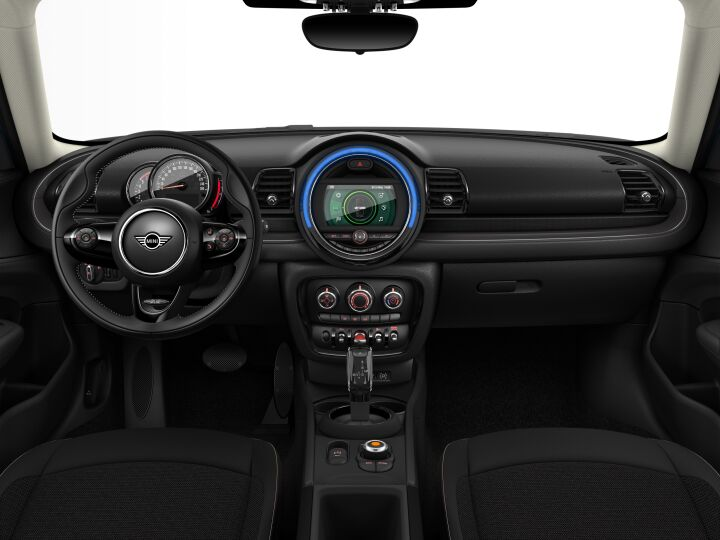 Vista Interior delantera del MINI Clubman One D 85 kW (116 CV)